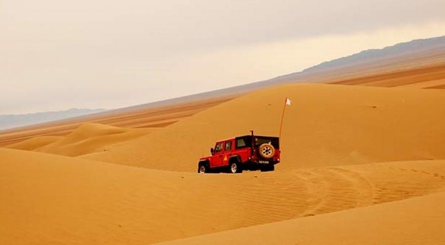 Wüsten Reise