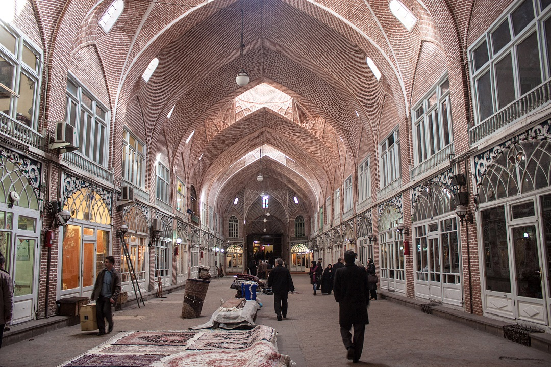 Tabriz Bazaar, the largest covered market in the world